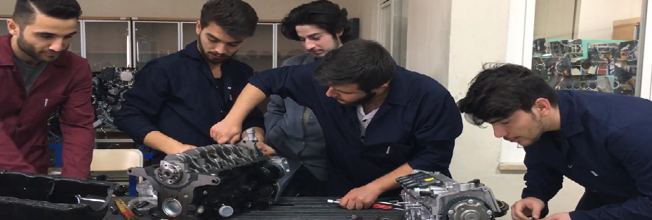 Otomotiv Mühendisliği Prensipleri Laboratuvar Dersleri