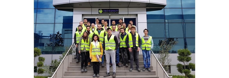 29.03.2019 tarihinde Teknorot'a teknik gezi düzenlenmiştir. Teknorot çalışanlarına misafirperverlikleri ve gezi boyunca verdikleri destek için teşekkür ederiz.